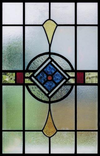 Art Nouveau Scottish Stained Glass Custom Studio