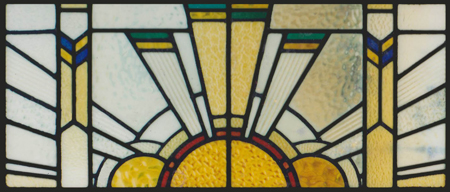 Art Deco | Scottish Stained Glass | Custom Studio