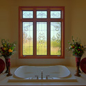 Bathroom Stained Glass Window Designs