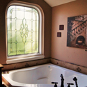 Bathroom Stained Glass Windows San Antonio