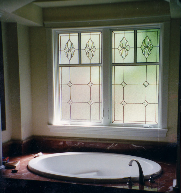 Bathroom Stained Glass Windows   BSG 10