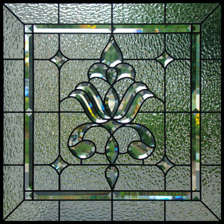 Beveled stained glass scottish stained glass for Window glass design images