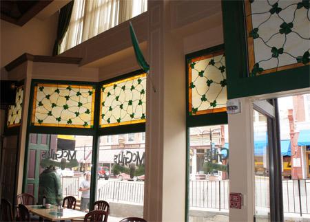 restaurant casino stained glass