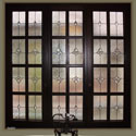 Bathroom Stained Glass Privacy Windows