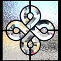 Celtic Beveled Leaded Glass Windows