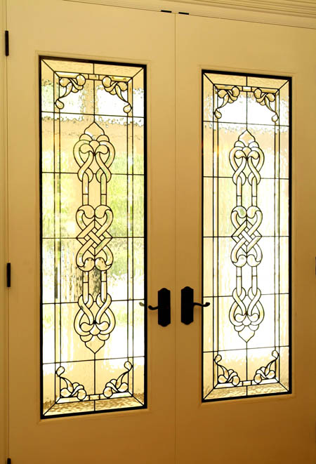 Celtic stained glass scottish stained glass custom for Art glass windows and doors