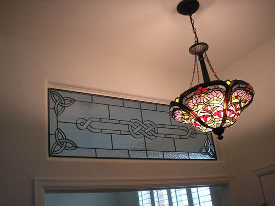 Celtic Stained Glass Scottish Stained Glass Custom