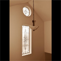 Celtic Stained Glass Transom Windows