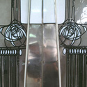 Charles Rennie Mackintosh Stained Glass Doors