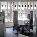 Charles Rennie Mackintosh Stained Glass Restaurant Windows