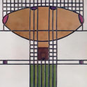 Charles Rennie Mackintosh Stained Glass Shapes