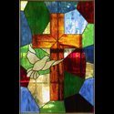 Dallas Religious Stained Glass Window