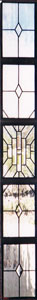 Contemporary Sidelight Stained Glass Windows