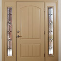 Entryway Sidelights & Transom Dallas