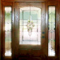 Entryway Stained Glass Doors & Windows - SGE 16