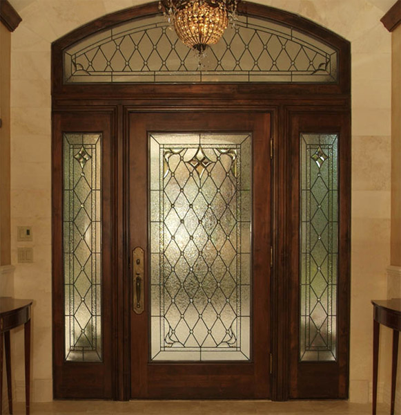 Entry Foyer Window : Entryway stained glass houston