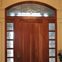 Entryway Stained Glass Transoms