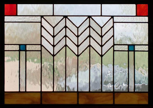 Prairie stained glass scottish stained glass for Window shapes and designs