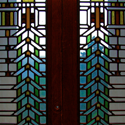 Frank Lloyd Wright Stained Glass Detail