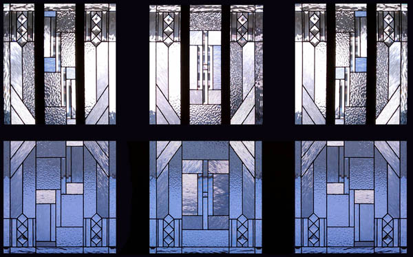 Prairie Style Stained Gl Windows