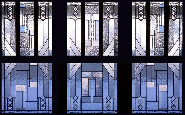 prairie style windows anderson prairie style stained glass windows scottish custom studio