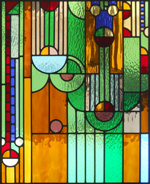 frank-lloyd-wright-stained-glass-panel-smallFrank Lloyd Wright Stained Glass Circles