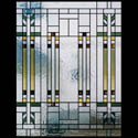 Prairie Style Stained Glass Panels