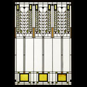 Frank Lloyd Wright Tree of Life Stained Glass Small