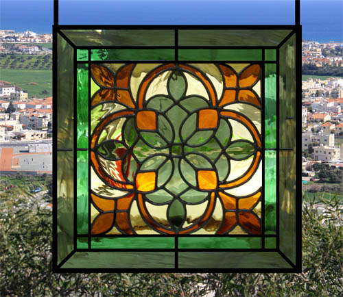 custom stained glass windows lamps with beveled glass window