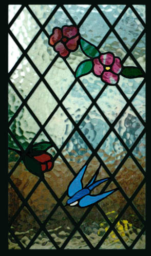 Stained glass gallery scottish stained glass for Stained glass kitchen windows
