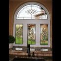 Kitchen Stained Glass Transom Windows