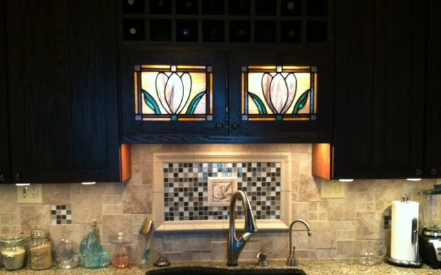Stained Glass Kitchen Scottish Stained Glass