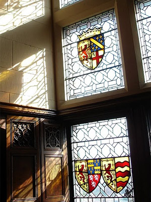 Stained Glass in Edinburgh Castle
