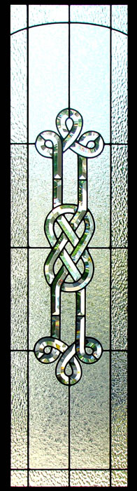 Stained Gl Celtic Sidelights Sgsl 6