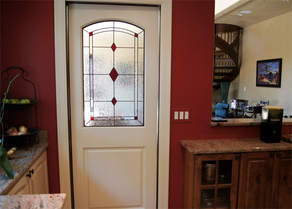 Charmant Stained Glass Diamond Interior Doors