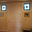 Dallas Stained Glass Square Sidelights