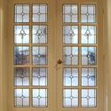 Stained Glass Interior Door Panels