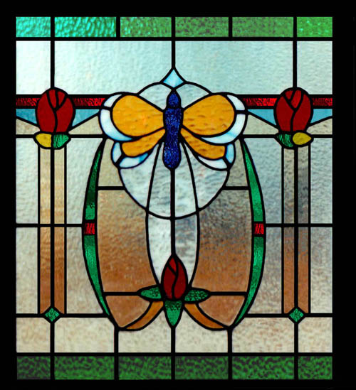 Stained glass kitchen scottish stained glass for Window design art