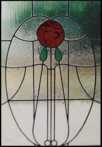 Charles Rennie Mackintosh | Scottish Stained Glass | Custom