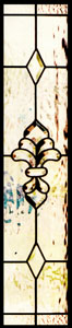 Stained Glass Sidelights Stained Glass Beveled Sidelights - SGSL 14