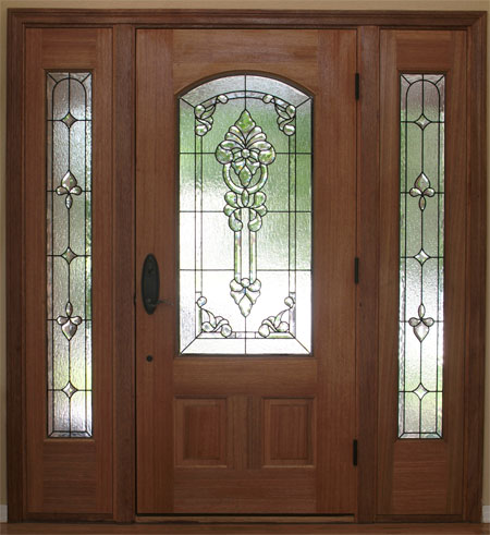 Stained Glass Sidelights - SGSL 1