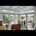 Sun Room Transom Stained Glass