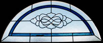 Stained Glass Transom Bevel Clusters