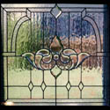 Traditional Stained Glass Panel