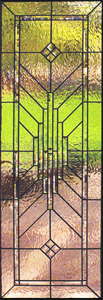 Transom Stained Glass Windows