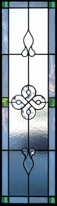 Celtic Stained Glass Sidelights