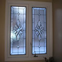 Celtic Stained Glass Bathroom Windows