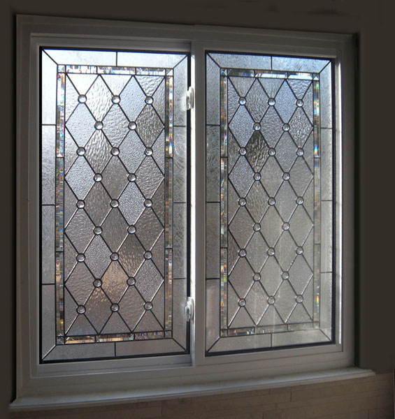 bathroom stained glass windows