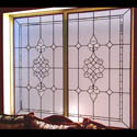 Bedroom Beveled & Leaded Glass