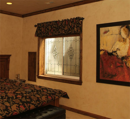 Bedroom Stained Glass Windows
